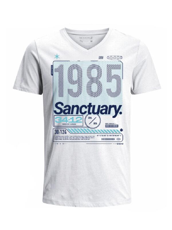 Nexxos Studio - Camiseta para hombre en Tejido De Punto 100% Algodón Tubular Manga Corta marca Nexxos 39794-000