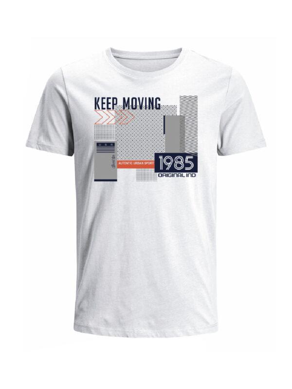 Nexxos Studio - Camiseta para hombre en Tejido De Punto 100% Algodón Tubular Manga Corta marca Nexxos 39797