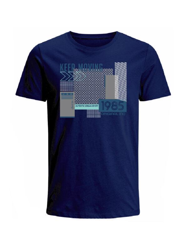 Nexxos Studio - Camiseta para hombre en Tejido De Punto 100% Algodón Tubular Manga Corta marca Nexxos 39797-005