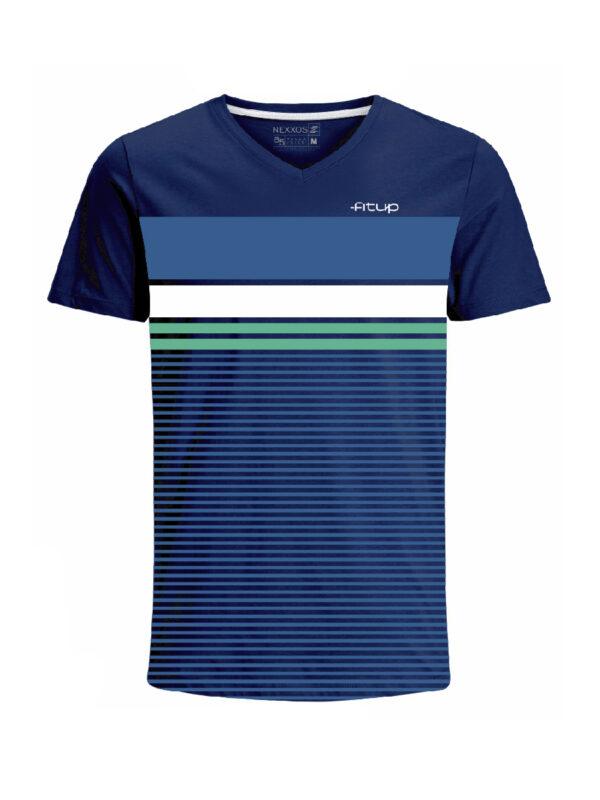 Nexxos Studio - Camiseta para hombre en Tejido De Punto 96% Algodón 4% Elastano Maga Corta marca Nexxos 39815-005