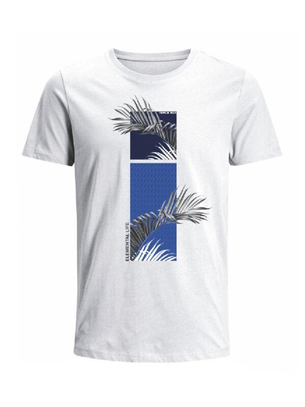Nexxos Studio - Camiseta para hombre en Tejido De Punto 100% Algodón Peinado Abierto Maga Corta marca Nexxos 39825-000
