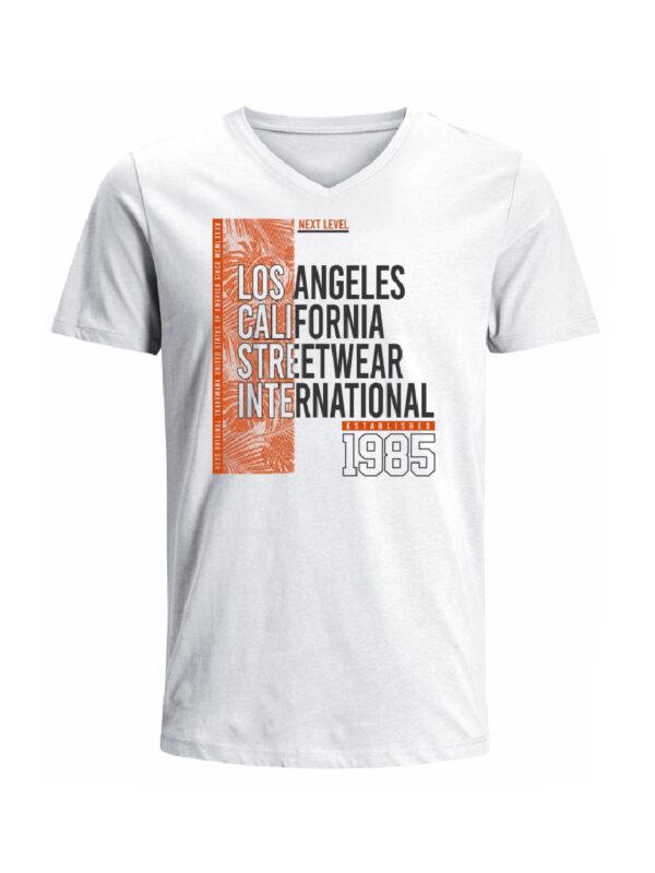 Nexxos Studio - Camiseta para hombre en Tejido De Punto 100% Algodón Tubular Maga Corta marca Nexxos 39829-000