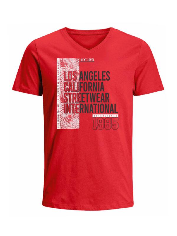 Nexxos Studio - Camiseta para hombre en Tejido De Punto 100% Algodón Tubular Maga Corta marca Nexxos 39829-001