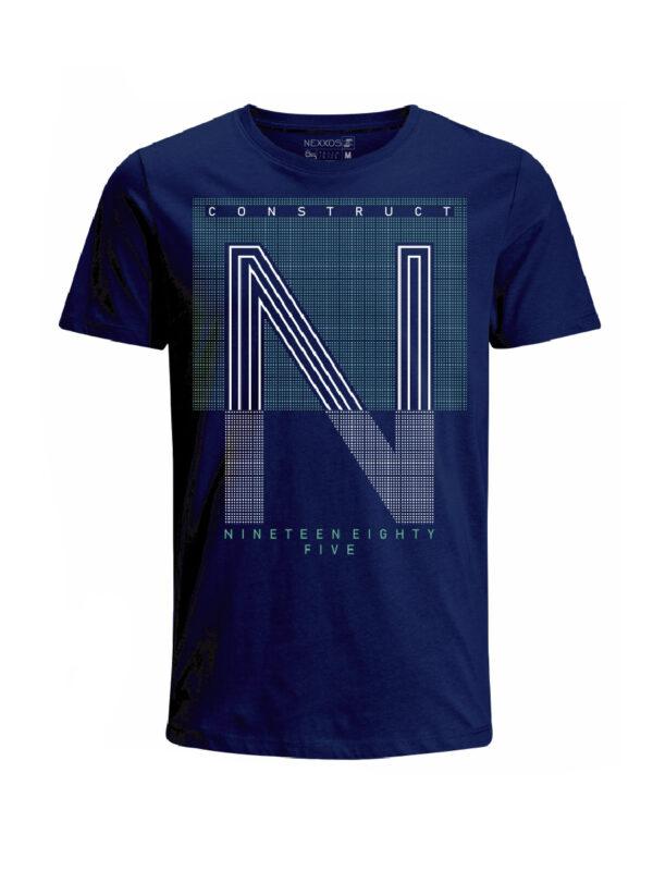 Nexxos Studio - Camiseta para hombre en Tejido De Punto 96% Algodón 4% Elastano Manga Corta marca Nexxos 39839-005