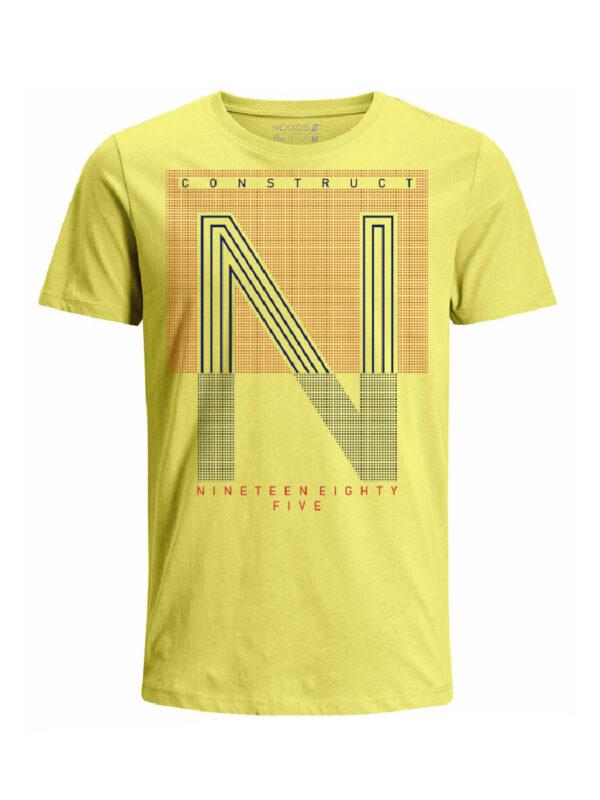 Nexxos Studio - Camiseta para hombre en Tejido De Punto 96% Algodón 4% Elastano Manga Corta marca Nexxos 39839-080