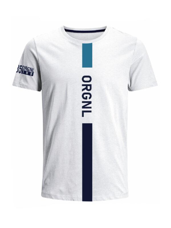 Nexxos Studio - Camiseta para hombre en Tejido De Punto 100% Algodón Peinado Abierto Manga Corta marca Nexxos 39925