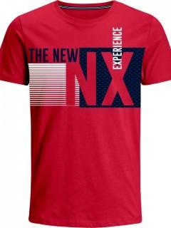 Camiseta para Hombre en Tejido de Punto 96% Algodón 4% Elastano Manga Corta  Nexxos 39378