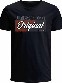 Camiseta para Hombre en Tejido de Punto 100% Algodón Peinado Abierto Manga Corta  Nexxos 39468