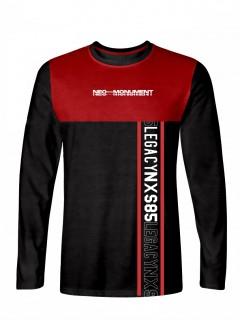 Camiseta para Hombre Tejido de Punto 96% Algodón 4% Elastano Manga Larga Nexxos 39396-008