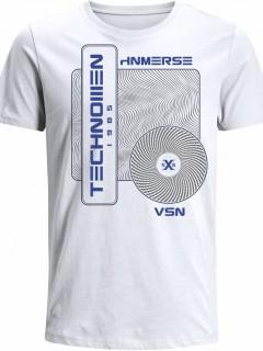 Camiseta para Hombre en Tejido de Punto 100% Algodón Tubular  Nexxos 39524