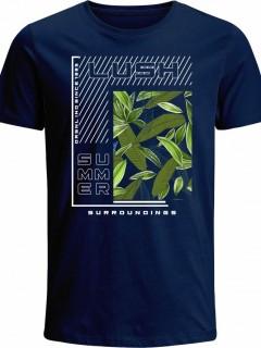 Camiseta para Hombre en Tejido de Punto 100% Algodón Tubular  Nexxos 39529