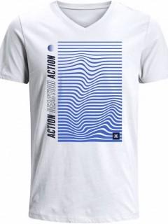 Camiseta para Hombre en Tejido de Punto 100% Algodón Tubular  Nexxos 39535