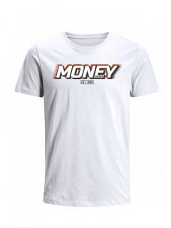 Camiseta para Hombre Tejido de Punto 100% Algodón Peinado Abierto Manga Corta Nexxos 39398-000