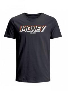Camiseta para Hombre Tejido de Punto 100% Algodón Peinado Abierto Manga Corta Nexxos 39398-008