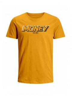 Camiseta para Hombre Tejido de Punto 100% Algodón Peinado Abierto Manga Corta Nexxos 39398-067