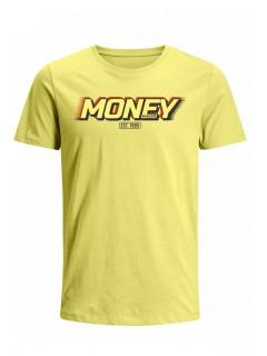 Camiseta para Hombre Tejido de Punto 100% Algodón Peinado Abierto Manga Corta Nexxos 39398-080