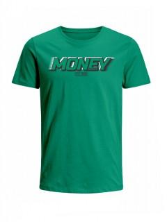 Camiseta para Hombre Tejido de Punto 100% Algodón Peinado Abierto Manga Corta Nexxos 39398-367