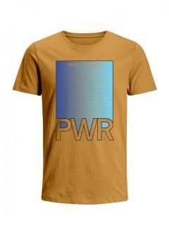 Camiseta para Hombre Tejido de Punto 100% Algodón Peinado Abierto Manga Corta Nexxos 39462-067