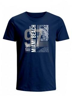 Camiseta para Hombre Tejido de Punto 100% Algodón Peinado Abierto Manga Corta Nexxos 39653-005