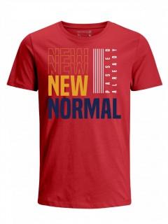 Camiseta para Hombre Tejido de Punto 100% Algodón Tubular Manga Corta Nexxos 39619-001