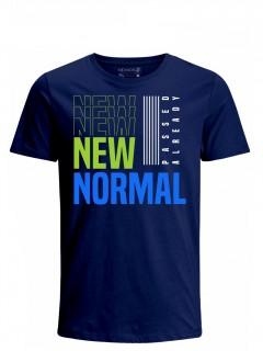 Camiseta para Hombre Tejido de Punto 100% Algodón Tubular Manga Corta Nexxos 39619-005