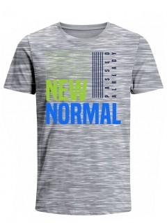 Camiseta para Hombre Tejido de Punto 100% Algodón Tubular Manga Corta Nexxos 39619-422