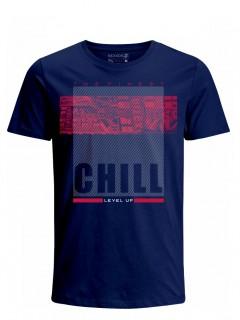 Camiseta para Hombre Tejido de Punto 100% Algodón Tubular Manga Corta Nexxos 39620-005