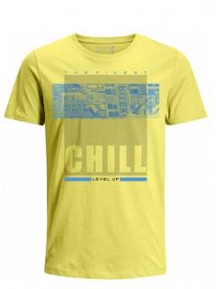 Camiseta para Hombre Tejido de Punto 100% Algodón Tubular Manga Corta Nexxos 39620-080