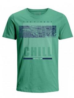 Camiseta para Hombre Tejido de Punto 100% Algodón Tubular Manga Corta Nexxos 39620-367