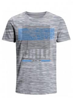 Camiseta para Hombre Tejido de Punto 100% Algodón Tubular Manga Corta Nexxos 39620-422