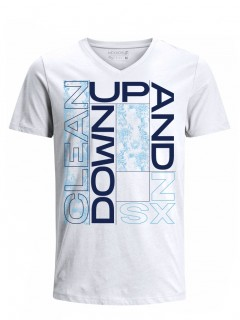 Camiseta para Hombre Tejido de Punto 100% Algodón Tubular Manga Corta Nexxos 39633-000