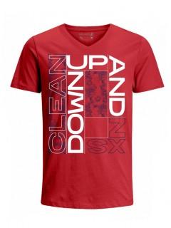 Camiseta para Hombre Tejido de Punto 100% Algodón Tubular Manga Corta Nexxos 39633-001