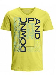 Camiseta para Hombre Tejido de Punto 100% Algodón Tubular Manga Corta Nexxos 39633-080