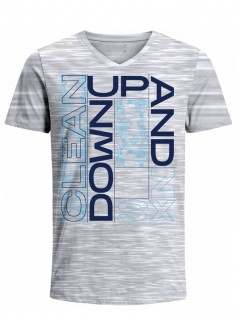 Camiseta para Hombre Tejido de Punto 100% Algodón Tubular Manga Corta Nexxos 39633-422