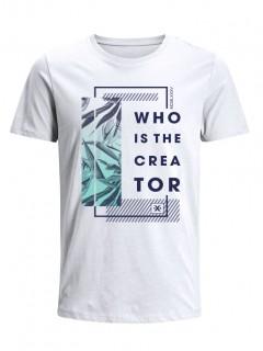 Camiseta para Hombre Tejido de Punto 100% Algodón Tubular Manga Corta Nexxos 39634-000