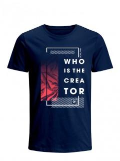 Camiseta para Hombre Tejido de Punto 100% Algodón Tubular Manga Corta Nexxos 39634-005