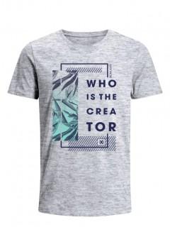 Camiseta para Hombre Tejido de Punto 100% Algodón Tubular Manga Corta Nexxos 39634-422