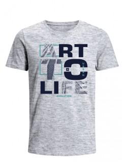 Camiseta para Hombre Tejido de Punto 100% Algodón Tubular Manga Corta Nexxos 39635-422