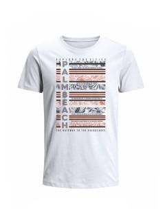 Camiseta para Hombre Tejido de Punto 100% Algodón Tubular Manga Corta Nexxos 39652-000