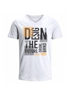 Camiseta para Hombre Tejido de Punto 100% Algodón Tubular Manga Corta Nexxos 39659-000