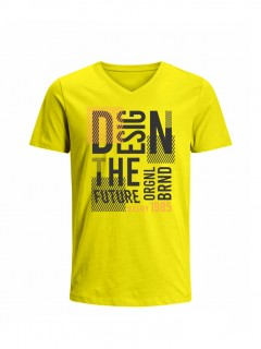 Camiseta para Hombre Tejido de Punto 100% Algodón Tubular Manga Corta Nexxos 39659-080