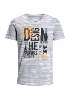 Camiseta para Hombre Tejido de Punto 100% Algodón Tubular Manga Corta Nexxos 39659-422