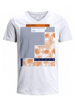 Camiseta para Hombre Tejido de Punto 100% Algodón Tubular Manga Corta Nexxos 39668-000