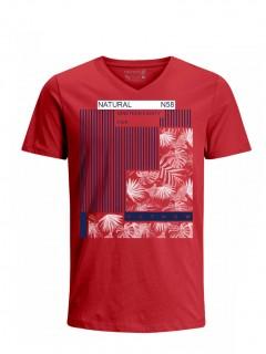 Camiseta para Hombre Tejido de Punto 100% Algodón Tubular Manga Corta Nexxos 39668-001