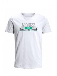 Camiseta para Hombre Tejido de Punto 96% Algodón 4% Elastano Manga Corta Nexxos 39536-000