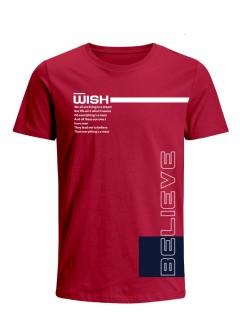 Camiseta para Hombre Tejido de Punto 96% Algodón 4% Elastano Manga Corta Nexxos 39547-001
