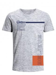 Camiseta para Hombre Tejido de Punto 96% Algodón 4% Elastano Manga Corta Nexxos 39547-018