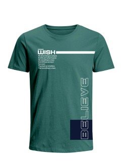 Camiseta para Hombre Tejido de Punto 96% Algodón 4% Elastano Manga Corta Nexxos 39547-353