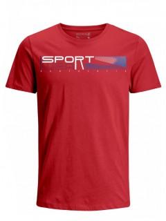 Camiseta para Hombre Tejido de Punto 96% Algodón 4% Elastano Manga Corta Nexxos 39624-001
