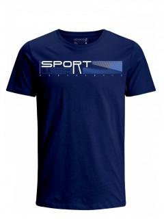 Camiseta para Hombre Tejido de Punto 96% Algodón 4% Elastano Manga Corta Nexxos 39624-005